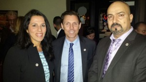 Meeting Dinner With MP Patrick Brown